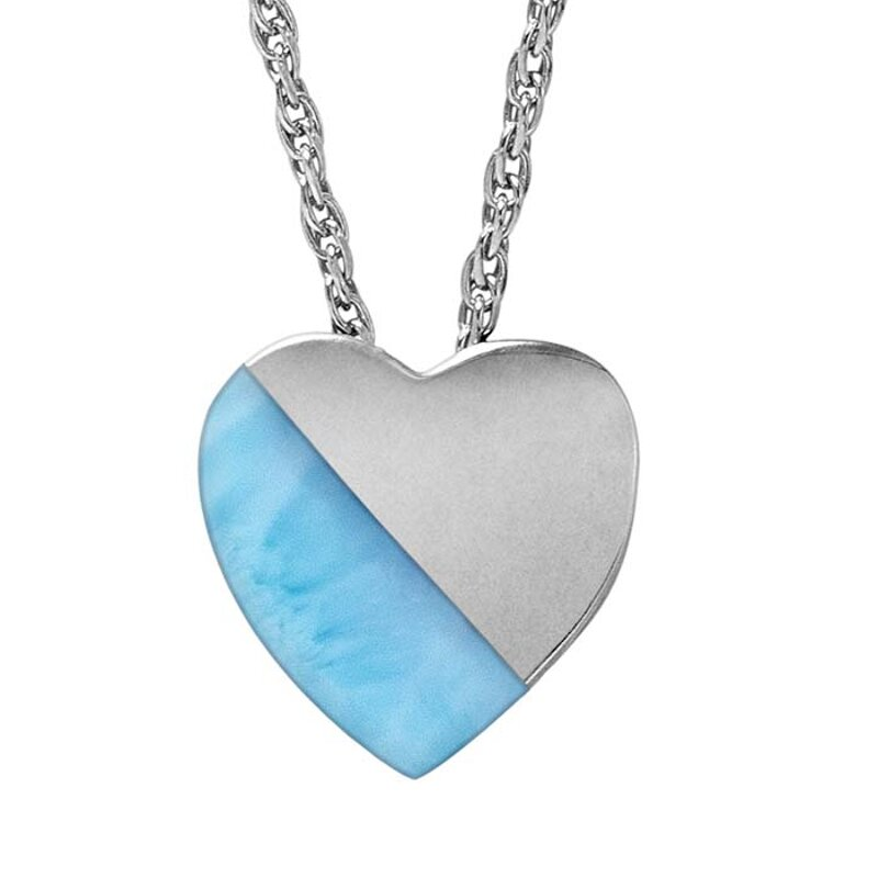 marahlago larimar Larimar Heart Set jewelry