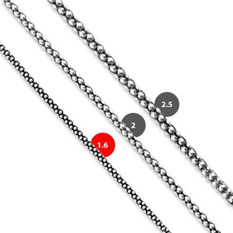 marahlago larimar 21 inch Popcorn Chain 1.6mm jewelry