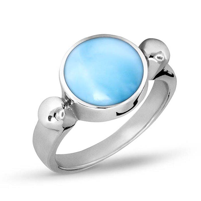 Marahlago Breeze Larimar Ring  Jewelry