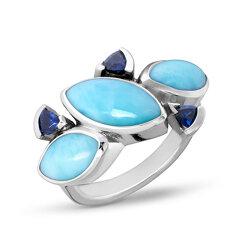 marahlago larimar Callista Larimar Ring jewelry
