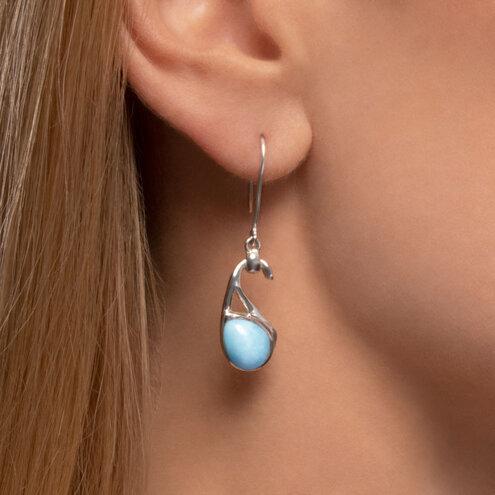 Seduction Larimar Earrings
