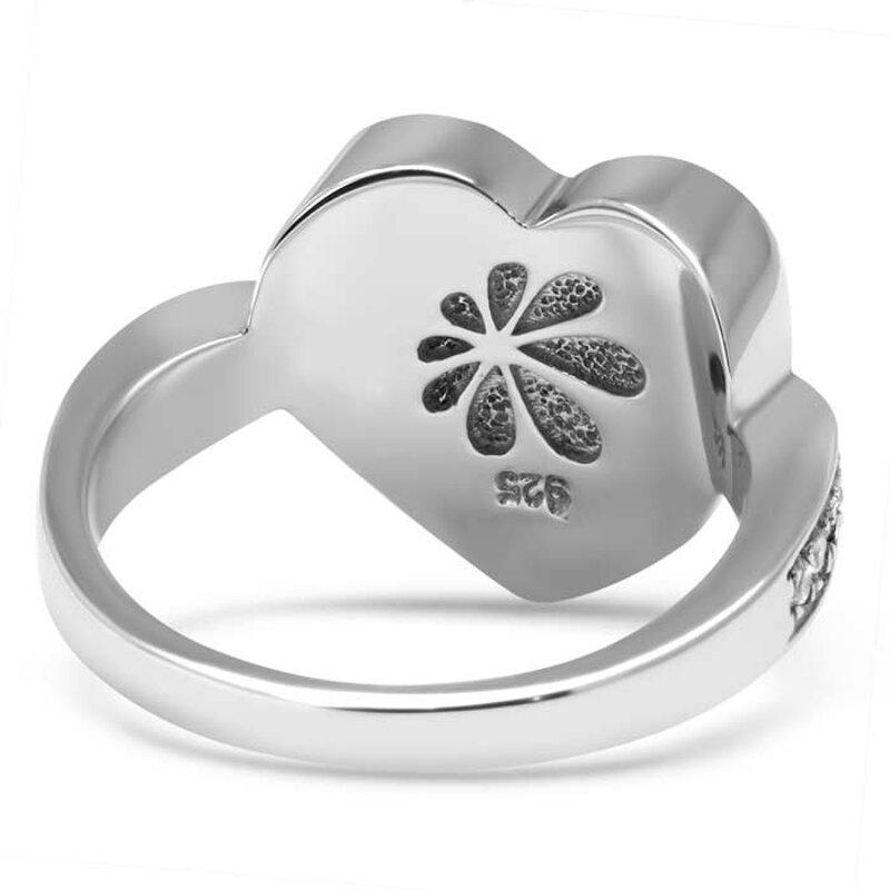 marahlago larimar Sapphire Heart Larimar Ring jewelry